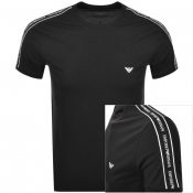 Emporio Armani Lounge Crew Neck T Shirt Black