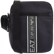 EA7 Emporio Armani Logo Shoulder Bag Navy