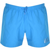 EA7 Emporio Armani Sea World Swim Shorts Blue