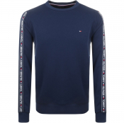 Tommy Hilfiger Lounge Taped Sweatshirt Navy