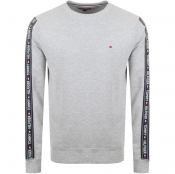 Tommy Hilfiger Lounge Taped Sweatshirt Grey