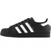adidas Originals Superstar Trainers Black