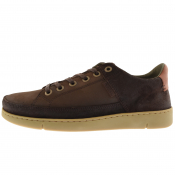 Barbour Leather Bilby Shoes Brown
