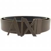 Armani Exchange Reversible Belt Brown