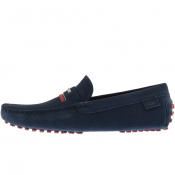 Lacoste Plaisance Suede Shoes Navy