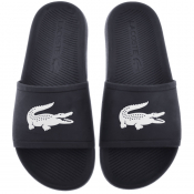 Lacoste Croco Sliders Navy