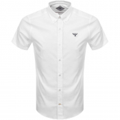 Barbour Beacon Seathwaite Short Sleeve Shirt White