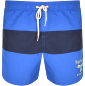 Barbour Beacon Ridgeway Swim Shorts Blue