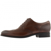 Ted Baker Mittal Leather Brogues Brown