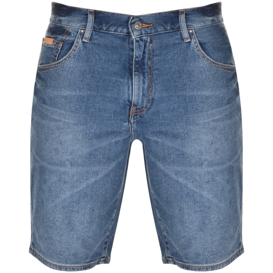 Armani Exchange Denim Shorts Blue