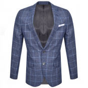 BOSS Hutsons 4 Blazer Jacket Blue