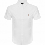 Ralph Lauren Oxford Slim Short Sleeve Shirt White