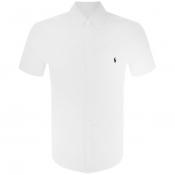 Ralph Lauren Slim Fit Short Sleeve Shirt White