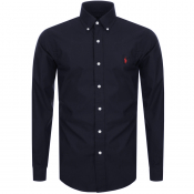 Ralph Lauren Slim Fit Long Sleeve Shirt Navy