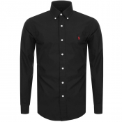 Ralph Lauren Slim Fit Long Sleeve Shirt Black