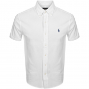Ralph Lauren Pique Short Sleeve Shirt White