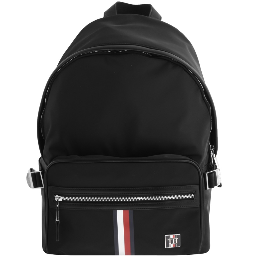 Tommy Hilfiger Clean Nylon Backpack Black