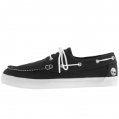 Timberland Union Wharf Boat Shoes Black