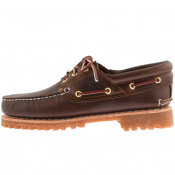 Timberland Authentic Handsewn Boat Shoe Brown
