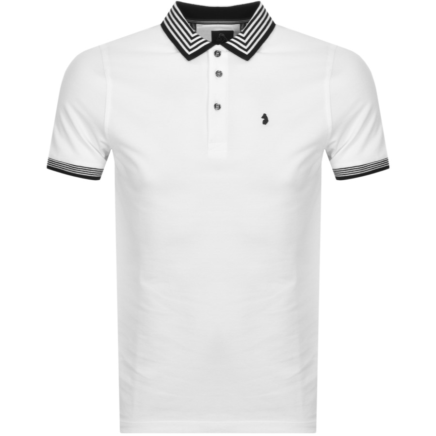 Luke 1977 Round The Corner 90 Degree Polo White