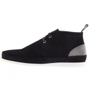 PS By Paul Smith Suede Boots Navy