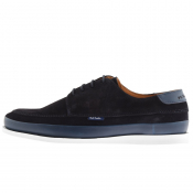 PS By Paul Smith Broc Boat Shoes Navy