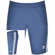 Adidas Originals Three Stripe Shorts Navy