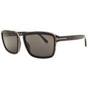 Tom Ford Anders Sunglasses Black