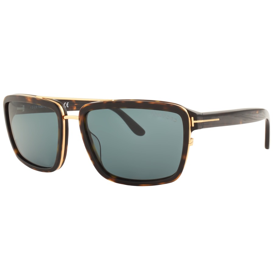 Tom Ford Anders Sunglasses Brown