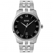 BOSS HUGO BOSS 1513588 Master Watch Silver