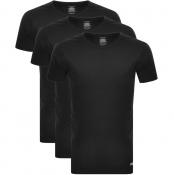 Lyle And Scott Three Pack Lounge T Shirts Black
