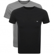 Emporio Armani 2 Pack Lounge T Shirts