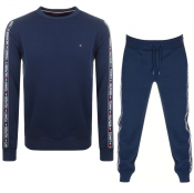 Tommy Hilfiger Loungewear Tracksuit Navy