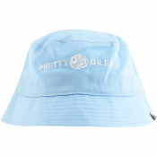 Pretty Green Lincoln Bucket Hat Blue