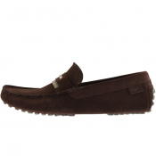 Lacoste Plaisance Suede Shoes Brown