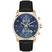 HUGO BOSS Skymaster Watch Gold