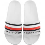 Tommy Hilfiger Pool Sliders White