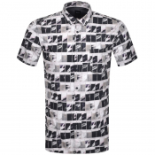 BOSS Magneton Short Sleeve Shirt Navy
