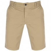 BOSS Schino Slim Shorts Beige