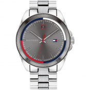 Tommy Hilfiger Riley Watch Silver