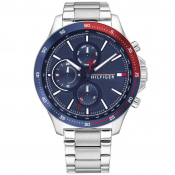 Tommy Hilfiger 1791718 Chronograph Watch Silver