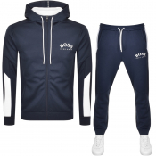 BOSS Saggy Tracksuit Navy