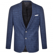 BOSS Hutsons 4 Blazer Jacket In Navy