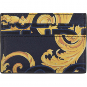 Versace Jeans Couture Logo Card Holder Blue