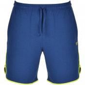 BOSS Bodywear Lounge Shorts Blue