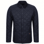 Barbour Liddesdale Heritage Quilted Jacket Navy