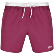 BOSS Starfish Swim Shorts Purple