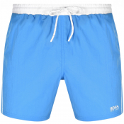 BOSS Starfish Swim Shorts Blue