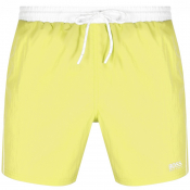 BOSS Starfish Swim Shorts Yellow