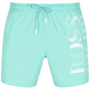 BOSS Octopus Swim Shorts Green